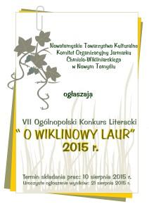 wiklinowy laur 2015 - plakat